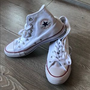 White Converse Allstar Sneakers